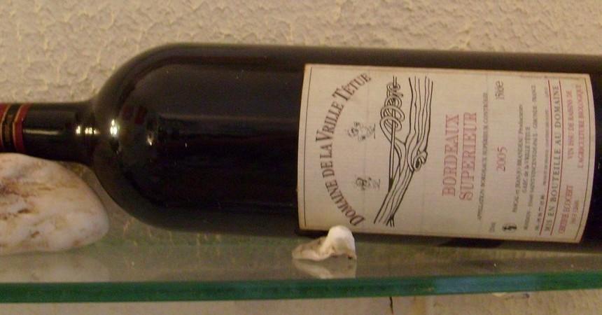Une grande bouteille de Bordeaux, pour un grand millésime...